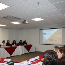Presentación del proyecto de RIESAL (Red Regional para el fomento de la Internacionalización de la Educación Superior en América Latina)