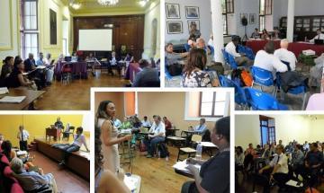 fotos de reunión en Lima Perú