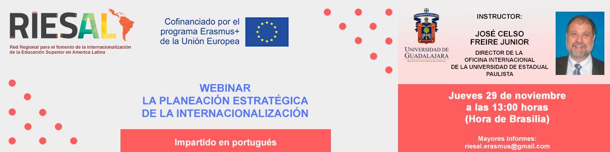 Webinar La planeación estratégica de la internacionalización